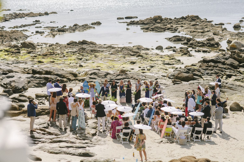 Boda en la playa - me caso - boda en el mar
