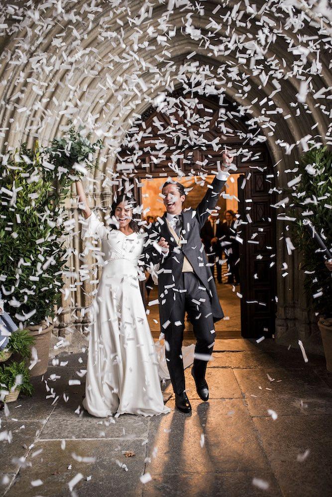 Confeti blanco - Wedding planner Itziar