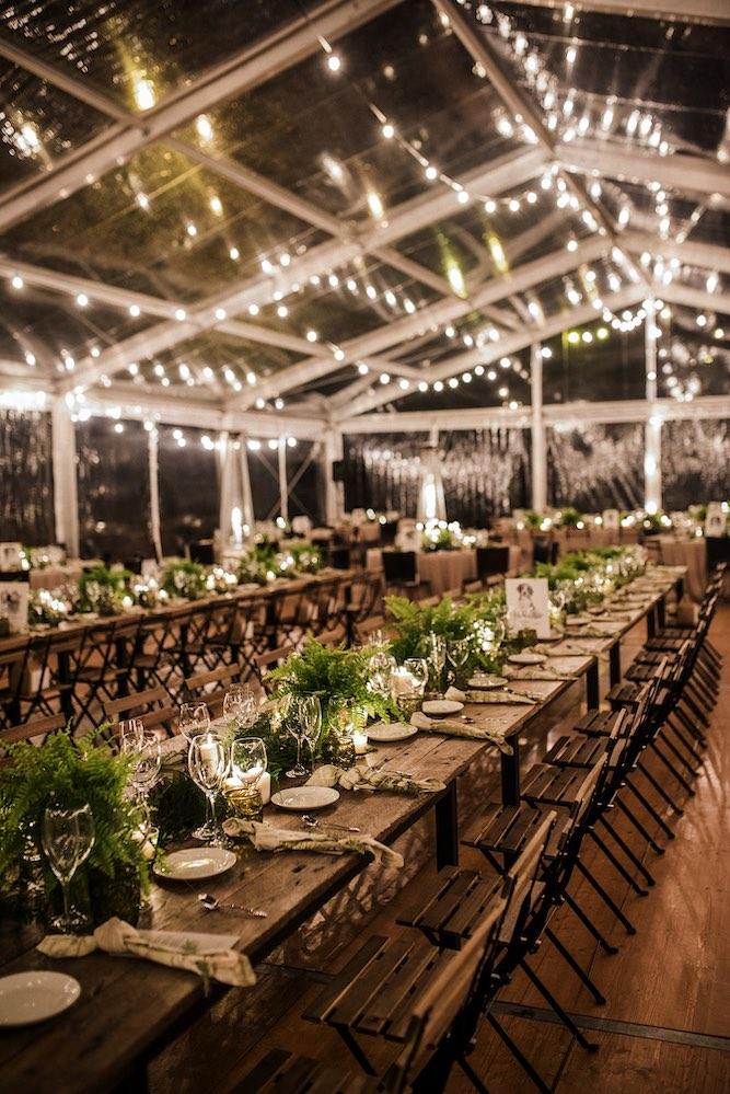 Carpa para boda - Itziar Ortuondo - Guirnalda de luces