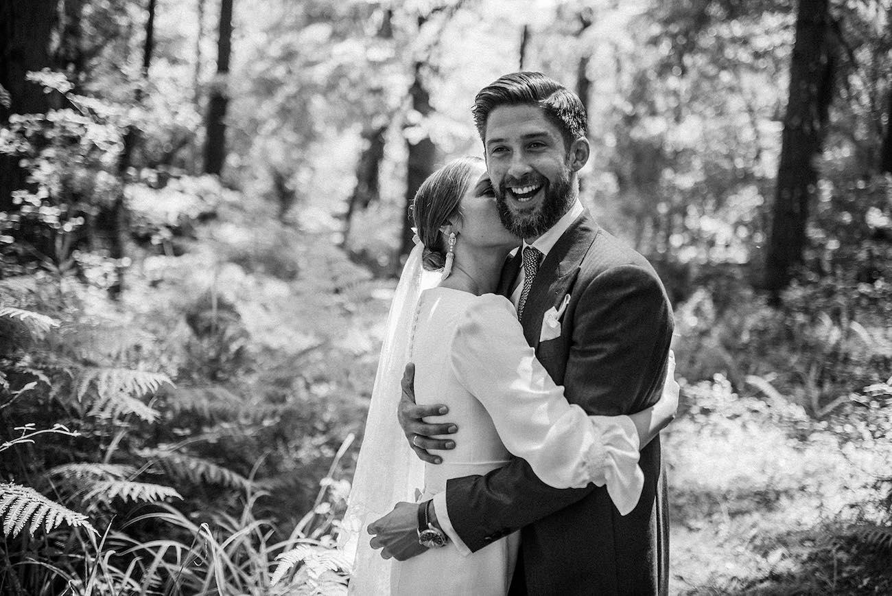 novios palacio de Ubieta - Mejor wedding planner Bilbao - me caso
