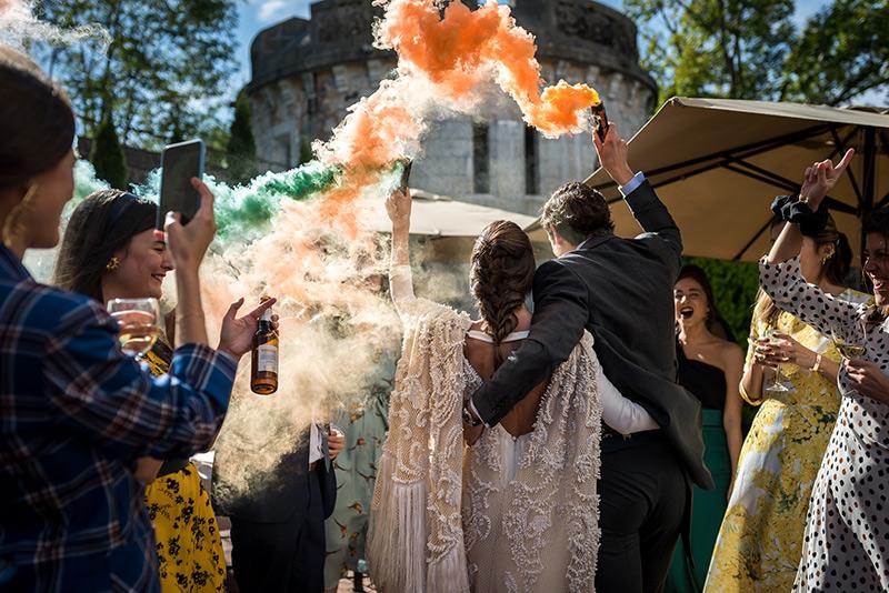 Bombas de humo - Las bodas más bonitas - Navascues