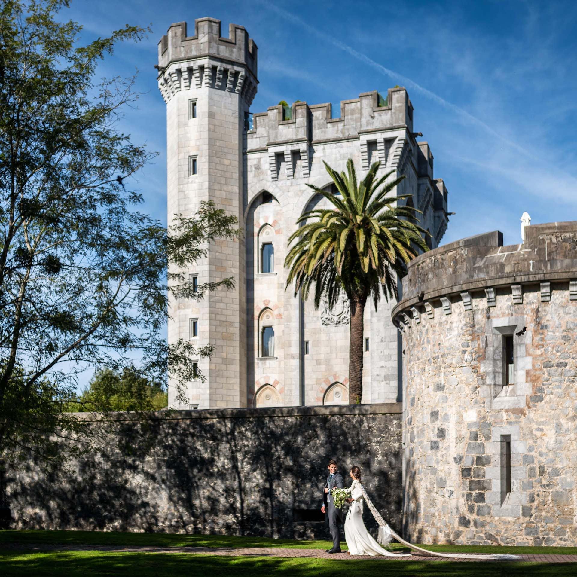Boda castillo de Arteaga - Navascues - Itziar Ortuondo - Man