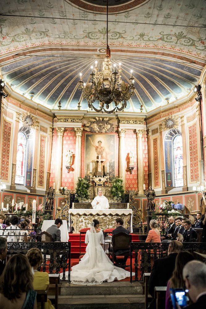 Iglesia Arcangues boda - Itziar Ortuondo