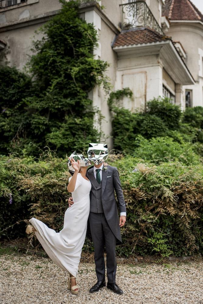 Caretas para boda - Biarritz - Lorenzo Caprile