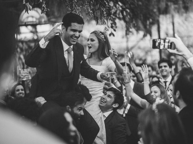 boda en la huerta de Cubas - me caso