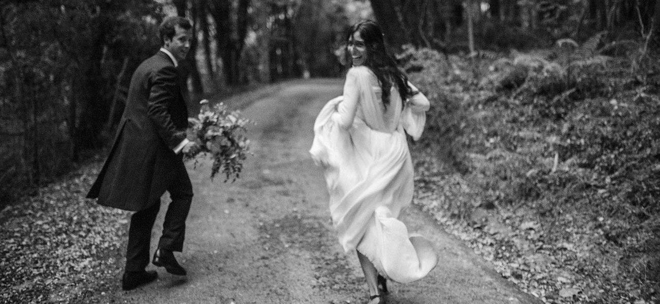 Vestido de novia - Chaqué de novio - Itziar Ortuondo