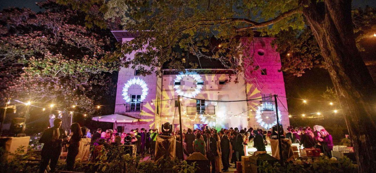 Boda en palacio de Ubieta - Iluminación de boda - Itziar Ortuondo